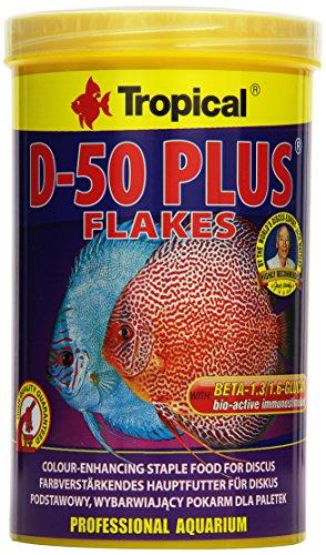 Tropical D 50Plus fiocco di mangime, 1er Pack (1X 1L)