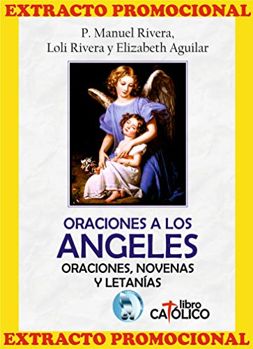 EXTRACTO PROMOCIONAL. ORACIONES A LOS ÁNGELES (Spanish Edition) book cover