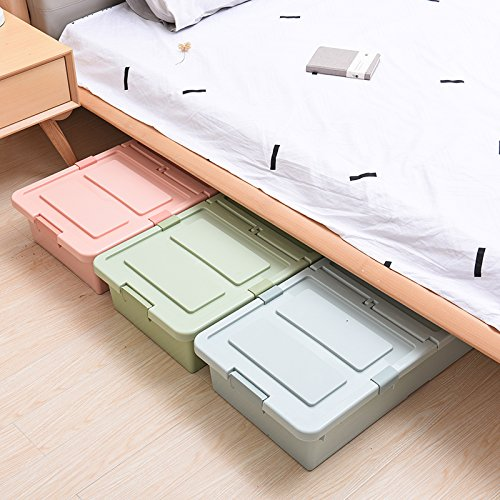 Diswa 2 Drawer Under Bed Cloth Storage Box – 1pc