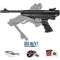 PACK pistola de aire comprimido Hatsan Supercharger - Arma de CO2 y balines (perdigones de plomo) <3,5J