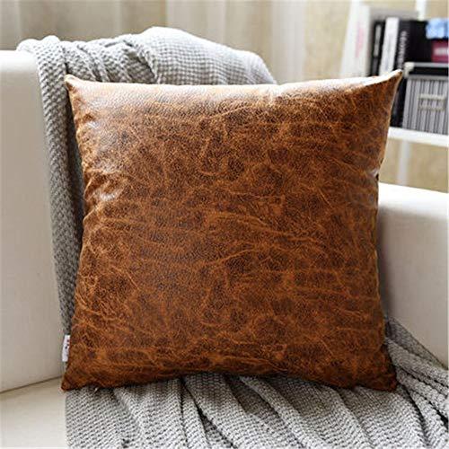 Owenqian-Pillow Outdoor Akzent Kissen Europäischen Kissen Sleeper Standardgröße Sofakissen Dekorative Sets Mit Einsätzen Kissen Dekorative Kissen (Farbe : 6, Größe : 55cm) -