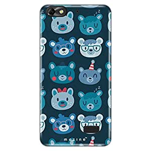 Mozine Panda Pattern Printed Mobile Back Cover For Huawei Honor 4c