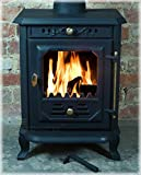 CASTMASTER CAST IRON FORNAIO WOOD BURNER BURNING MULTI FUEL STOVE 7kw MAX