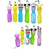 Water Bottle For Kids Stylish Animal Sipper Premium Quality Cute Cap Bottles For School Going Kid Small Sipper Cups Perfect Return Gift Birthday Gifts Online Pack Of 6 By Kieana.