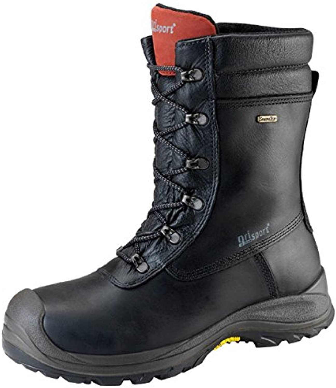 Grisport grs974 – 46 impermeable con cremallera alta botas, tamaño: 46, negro (Pack de 2)