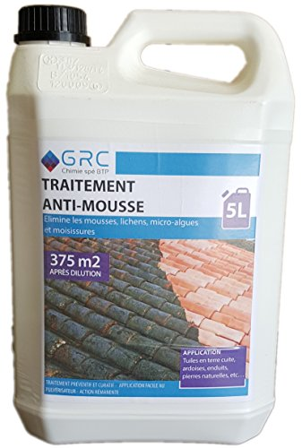 GRC- Traitement Anti-mousse Super Concentré - 5L