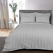 Kingtex 4-Pieces Comforter Set Cotton Silver Single