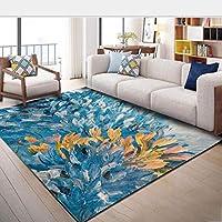 BAIJJ Simple Art Living Room Sofa Carpet Coffee Table Mat Bedroom Carpet 80 * 160CM (Color: C, Size: 120 * 160cm)