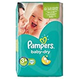 PAMPERS Baby Dry Taille 3+ (Midi+) 5 a 10 kg couch