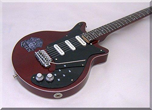 BRIAN MAY Miniatura Guitarra QUEEN Burn2