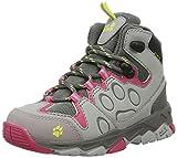 Jack Wolfskin Unisex-Kinder Mtn Attack 2 Texapore Mid K Trekking-& Wanderstiefel, Grau (Tropic Pink), 26 EU