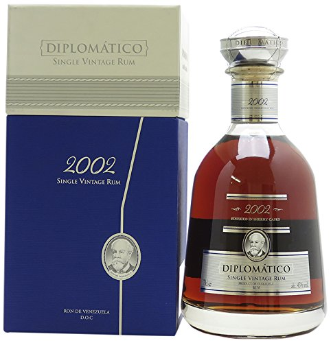 Diplomatico Single Vintage 2002 Limited Edition mit Geschenkverpackung Rum (1 x 0.7 l)