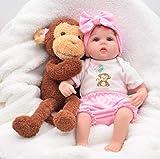 CYdoll 16inches Realistische Geburt Baby Puppe Mode Silikon Vinyl Baby Doll Geburtstagsgeschenk