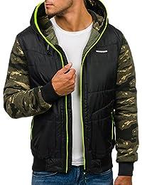 BOLF – Veste à capuche – Blouson – Hoodie – Sport – Outdoor – Motif – Homme [4D4]