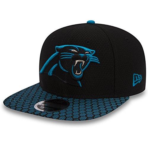 New Era Cap schwarz M/L (Carolina Panthers Trikots Männer)