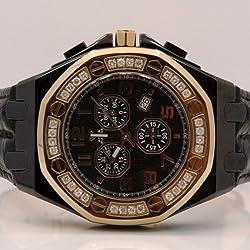 Aqua Master Royal Oak Royal Oak Mens Diamond Watch 1.50ctw W325