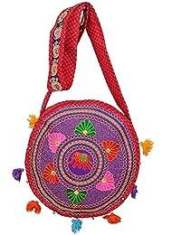 Rajasthani Vintage Ethenic Handmade Bags For Womens And Girls - Sling Bag