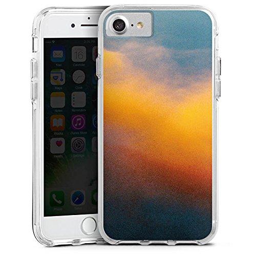 Apple iPhone 6s Bumper Hülle Bumper Case Glitzer Hülle Wolken Himmel Sonnenuntergang Bumper Case transparent