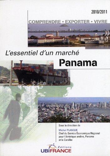L'essentiel d'un marché Panama par Collectif