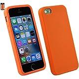 Emartbuy® Apple iPhone SE Silikon Haut Kasten Abdeckung Gelb
