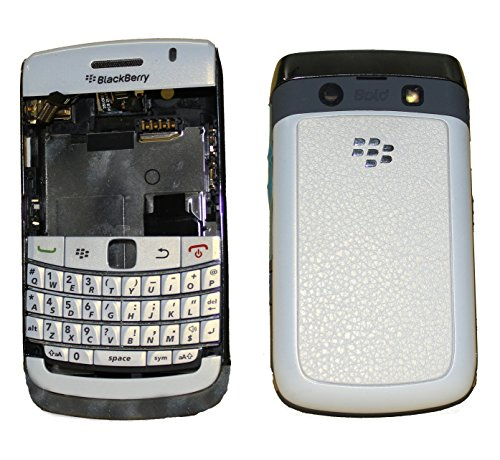 Full Housing Body Panel Faceplate For Blackberry Curve 9780 White  available at amazon for Rs.799