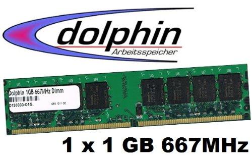 1gb 667mhz Pc5300 Ddr2 Speicher - Mihatsch&Diewald Dolphin 1GB 1024Mb 240Pin DDR2
