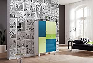 komar disney fototapete 39 mickey comic 39 368x254 cm k che haushalt. Black Bedroom Furniture Sets. Home Design Ideas
