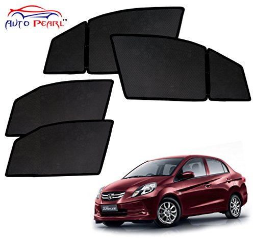auto pearl - premium quality day and night magnetic sun shades car curtain for - honda amaze - set of 4 pcs Auto Pearl – Premium Quality Day and Night Magnetic Sun Shades Car Curtain For – Honda Amaze – Set of 4 Pcs 51mrBjCjcbL