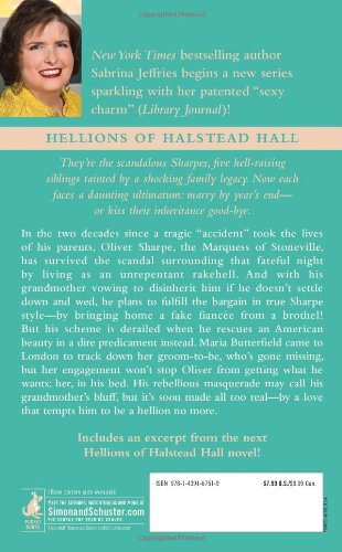 The Truth about Lord Stoneville (Hellions of Hallstead Hall 1)