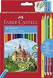 Faber-Castell 110336 Matita Colorata, 39 Pezzi