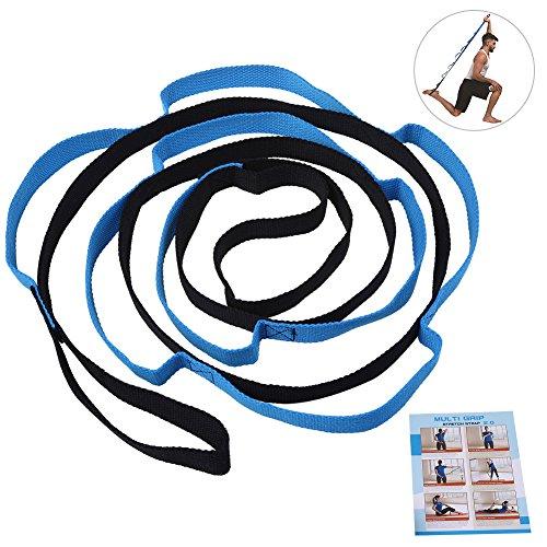 Stretch Strap- RUNACC Flexible Dehnen Band Soft Fitness-Band für Training, Yoga, Tanzen, Resistance Dehnband