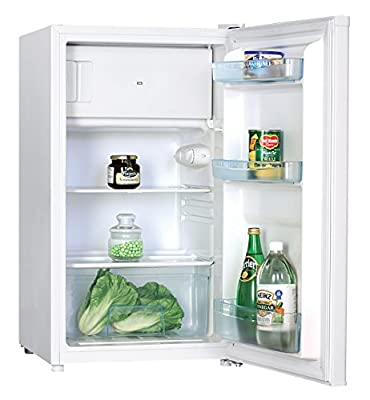 Igenix IG348R Under Counter Fridge with Ice Box, 48 cm, White