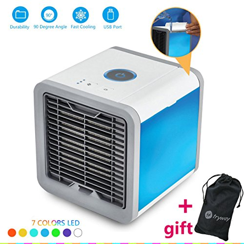 Trymway 2018 New Air Cooler Arctic Air Persönlichen Raum Kühler Quick & Easy Way to Cool Outdoor tragbare Klimaanlage Home Office Schreibtisch Gerät