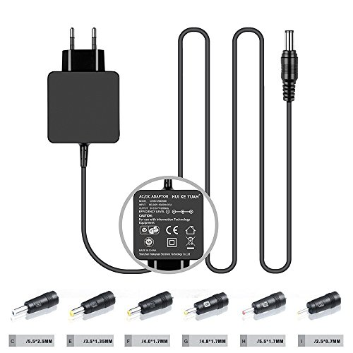 TUV HKY 9V Universal Netzteil DC Ladegerät Ladekabel für VTech Produkte, TrekStor Volks-Tablet VT10416-1, Odys Tablo, Wintab 10, Xpress, DVD Player, Lautsprecher, Motorola TLKR-T50 Walkie Talkie