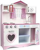 Leomark Pink Play Große HolzKÜCHE Fur Kinder 82x30x101 KinderKÜCHE SpielKÜCHE Zubehör Kitchen KinderspielKÜCHE Spielzeug KÜCHE Aus Holz - 3
