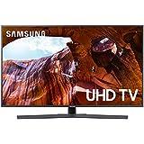 """Samsung UE43RU7400U Smart TV 4K Ultra HD 43"""" Wi-Fi DVB-T2CS2, Serie RU7400 2019, 3840 x 2160 Pixels, Grigio"""