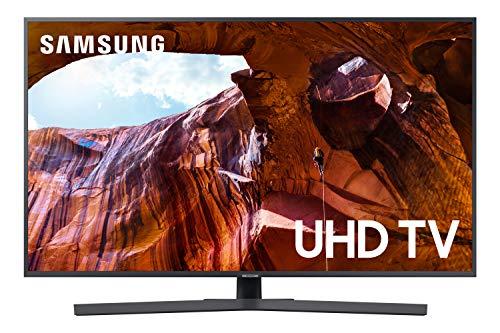 """Samsung UE43RU7400UXZT Smart TV 4K Ultra HD 43"""" Wi-Fi DVB-T2CS2, Serie RU7400 2019, 3840 x 2160 Pixels, Grigio"""