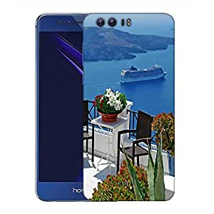 Snoogg Brown Chairs Designer Protective Phone Back Case Cover For Huawei Honor 8