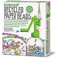 Great Gizmos Green Creativity - Juego de creación de cuentas de papel