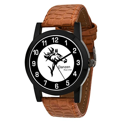 Danzen Polo Club wrist watch for mens DZ-479  available at amazon for Rs.299