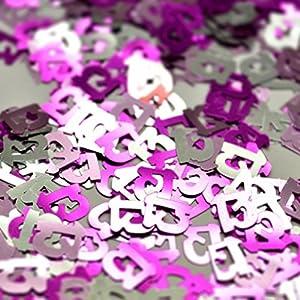 Gifts 4 All Occasions Limited SHATCHI-150 - Confeti para decoración de fiestas (14 g, 13 cumpleaños), color rosa