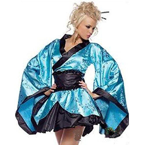 YTB Imitazione Seta Sexy Del Kimono Biancheria Intima Sexy
