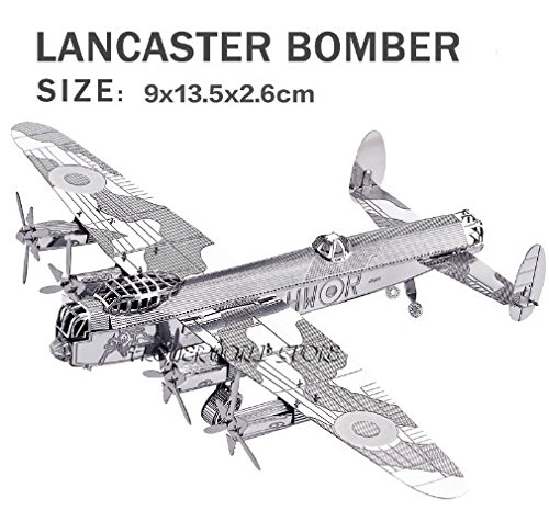 new-creative-cool-bomber-3d-metal-model-3d-puzzles-lancaster-bomber-jigsaws-creative-diy-adult-child