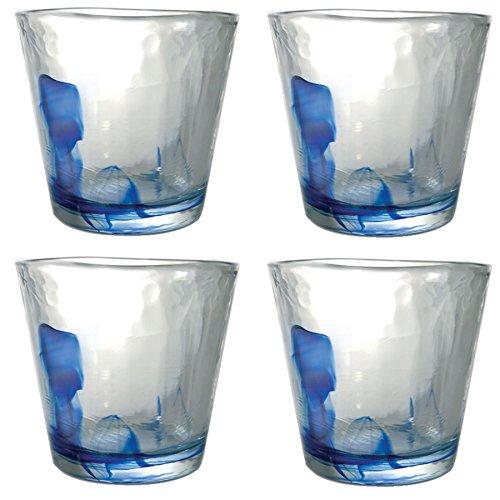 Murano Wasser/Saft Gläser Becher - 270ml - 4er-Set Bormioli Rocco Murano