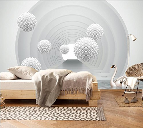 WH-PORP Custom 3D Murals Luxury Modern Minimalist Creative Ball Space Home Background tapete-300cmX210cm