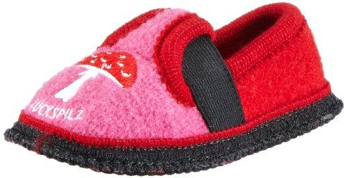 Adelheid Glückspilz Kinderwollhausschuh, Baby Mädchen Lauflernschuhe, Pink (pink/661), 30 EU