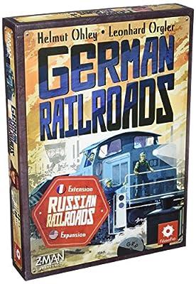 Asmodee - RURA02 - German Railroads - Extension Russian Railroads
