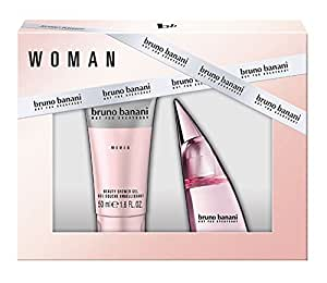 bruno banani Woman Geschenkset (Eau de Toilette Natural Spray 20ml + Beauty Shower Gel 50ml)