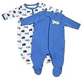 NAME IT Baby-Jungen Schlafstrampler Nitnightsuit Zip W