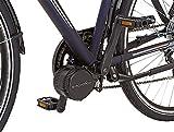 Prophete Herren Elektrofahrrad E-Bike Alu-Trekking 28 Zoll E-Novation Navigator 6.5, nachtblau matt, 52, 51446-0111 -